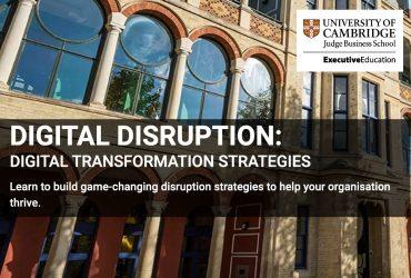 Il team Develed in formazione avanzata sulle Strategie legate alla Digitalizzazione – Cambridge University